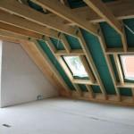 Dach mit Fenstern
